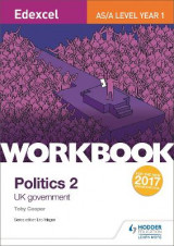Omslag - Edexcel AS/A-level Politics Workbook 2: UK Government