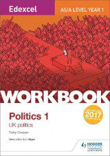 Omslag - Edexcel AS/A-level Politics Workbook 1: UK Politics