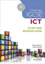 Omslag - Cambridge IGCSE ICT Study and Revision Guide