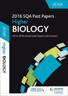 Higher Biology 2016-17 SQA Past Papers with Answers av SQA (Heftet)
