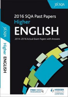 Higher English 2016-17 SQA Past Papers with Answers av SQA (Heftet)