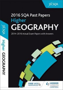 Higher Geography 2016-17 SQA Past Papers with Answers av SQA (Heftet)