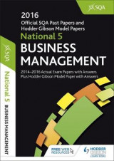 Omslag - National 5 Business Management 2016-17 SQA Past Papers with Answers