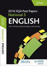 Omslag - National 5 English 2016-17 SQA Past Papers with Answers