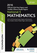 Omslag - National 5 Mathematics 2016-17 SQA Past Papers with Answers