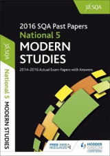 Omslag - National 5 Modern Studies 2016-17 SQA Past Papers with Answers