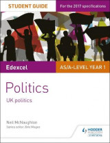 Omslag - Edexcel AS/A-level Politics Student Guide 1: UK Politics