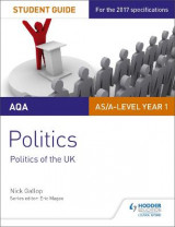 Omslag - AQA AS/A-level Politics Student Guide 2: Politics of the UK