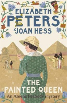 The Painted Queen av Elizabeth Peters og Joan Hess (Innbundet)