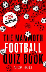 Omslag - The Mammoth Football Quiz Book