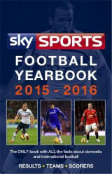 Omslag - Sky Sports Football Yearbook 2015-2016