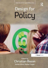 Omslag - Design for Policy