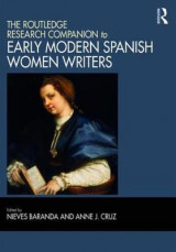 Omslag - The Routledge Research Companion to Early Modern Spanish Women Writers