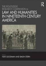 Omslag - The Routledge Research Companion to Law and Humanities in Nineteenth-Century America