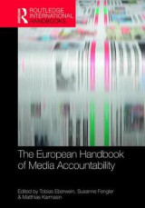 Omslag - The European Handbook of Media Accountability