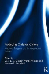 Omslag - Producing Christian Culture