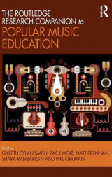 Omslag - The Routledge Research Companion to Popular Music Education