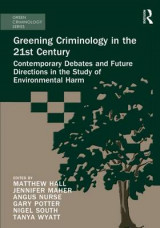 Omslag - Greening Criminology in the 21st Century