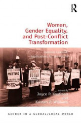 Omslag - Women, Gender Equality, and Post-Conflict Transformation