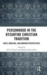 Omslag - Personhood in the Byzantine Christian Tradition