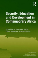 Omslag - Security, Education and Development in Contemporary Africa