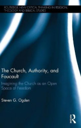Omslag - The Church, Authority and Foucault