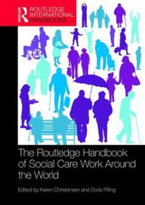 Omslag - The Routledge Handbook of Social Care Work Around the World