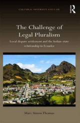 Omslag - The Challenge of Legal Pluralism