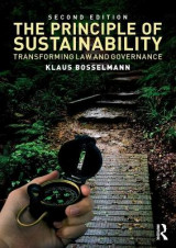 Omslag - The Principle of Sustainability