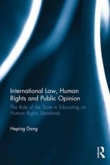 Omslag - International Law, Human Rights and Public Opinion