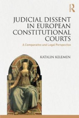 Omslag - Judicial Dissent in European Constitutional Courts