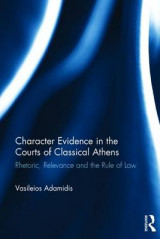 Omslag - Character Evidence in the Courts of Classical Athens