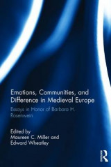 Omslag - Emotions, Communities, and Difference in Medieval Europe
