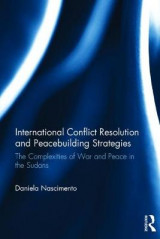 Omslag - The International Conflict Resolution and Peacebuilding Strategies