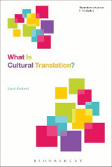 Omslag - What is Cultural Translation?