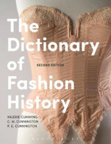 Omslag - The Dictionary of Fashion History