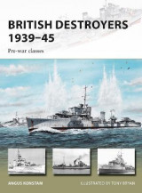 Omslag - British Destroyers 1939-45