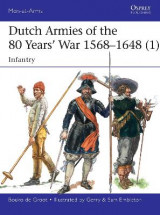 Omslag - Dutch Armies of the 80 Years' War 1568-1648 1