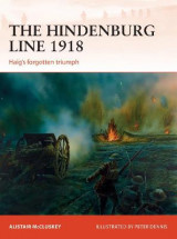 Omslag - The Hindenburg Line 1918