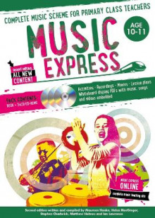 Music Express: Age 10-11: Complete Music Scheme for Primary Class Teachers av Stephen Chadwick (Blandet mediaprodukt)