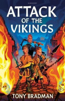 Attack of the Vikings av Tony Bradman (Heftet)