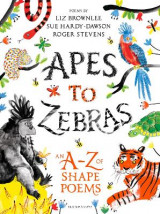 Omslag - Apes to Zebras: An A-Z of Shape Poems