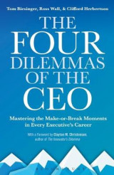Omslag - The Four Dilemmas of the CEO