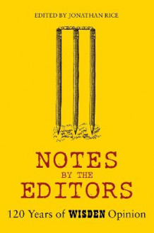 Notes By The Editors (Innbundet)