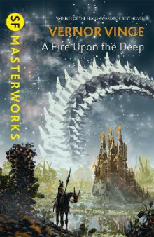 A Fire Upon the Deep av Vernor Vinge (Heftet)
