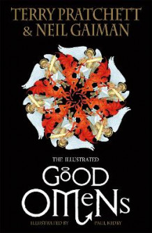 The Illustrated Good Omens av Terry Pratchett og Neil Gaiman (Innbundet)