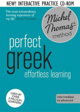 Omslag - Perfect Greek Intermediate Course: Learn Greek with the Michel Thomas Method