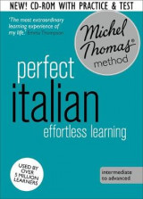 Omslag - Perfect Italian Intermediate Course: Learn Italian with the Michel Thomas Method