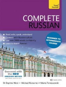 Complete Russian Beginner to Intermediate Course av Daphne West (Blandet mediaprodukt)