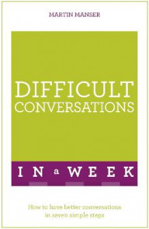 Difficult Conversations In A Week av Martin Manser (Heftet)
